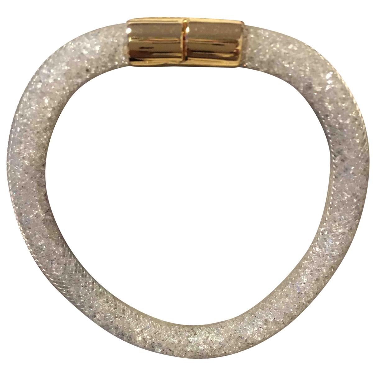 Swarovski - Bracelet Stardust pour femme en metal - blanc
