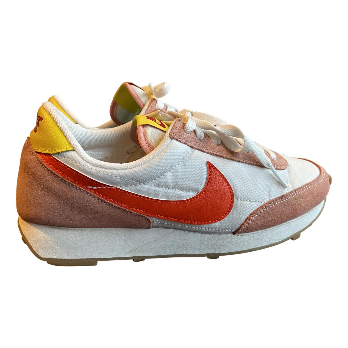 Nike N White Suede Trainers for Women 38 EU