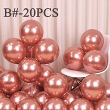 20pcs Solid Decorative Balloon