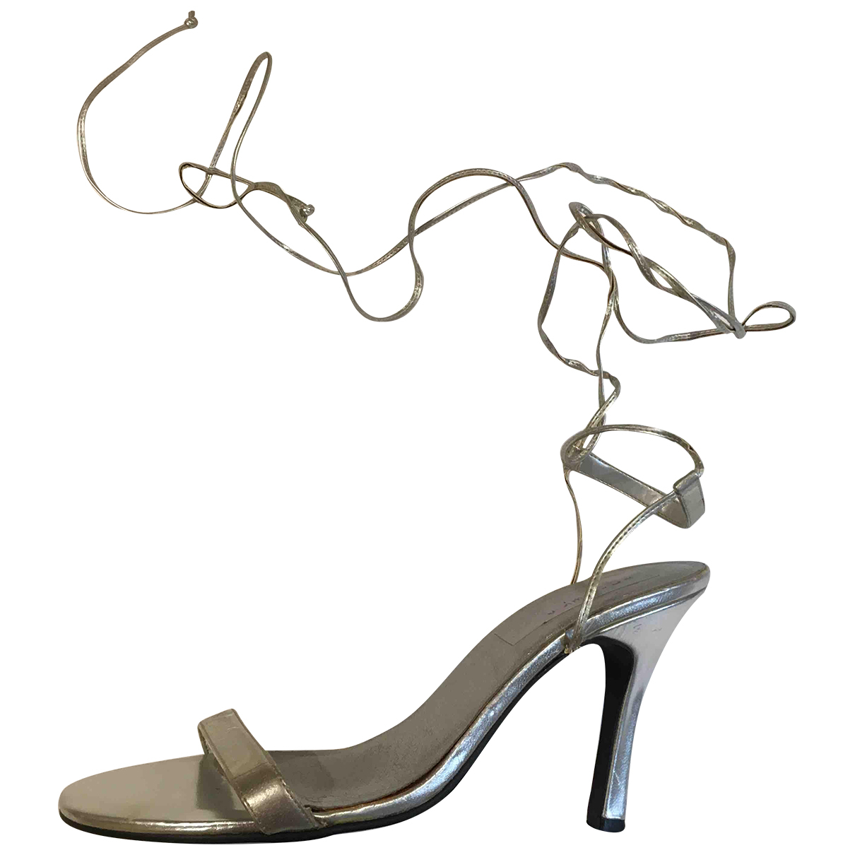 Stella Cadente \N Sandalen in  Silber Leder