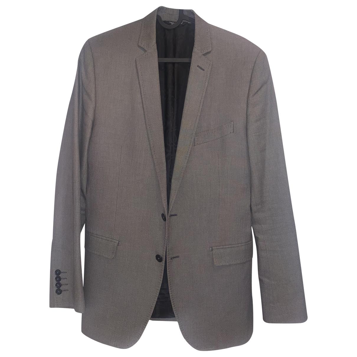 Dolce & Gabbana \N Grey Cotton jacket  for Men 48 IT