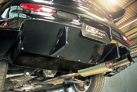 R Magic RMG40121340003 Rear Under Diffuser 03 Mazda RX-7 FD3S 93-02