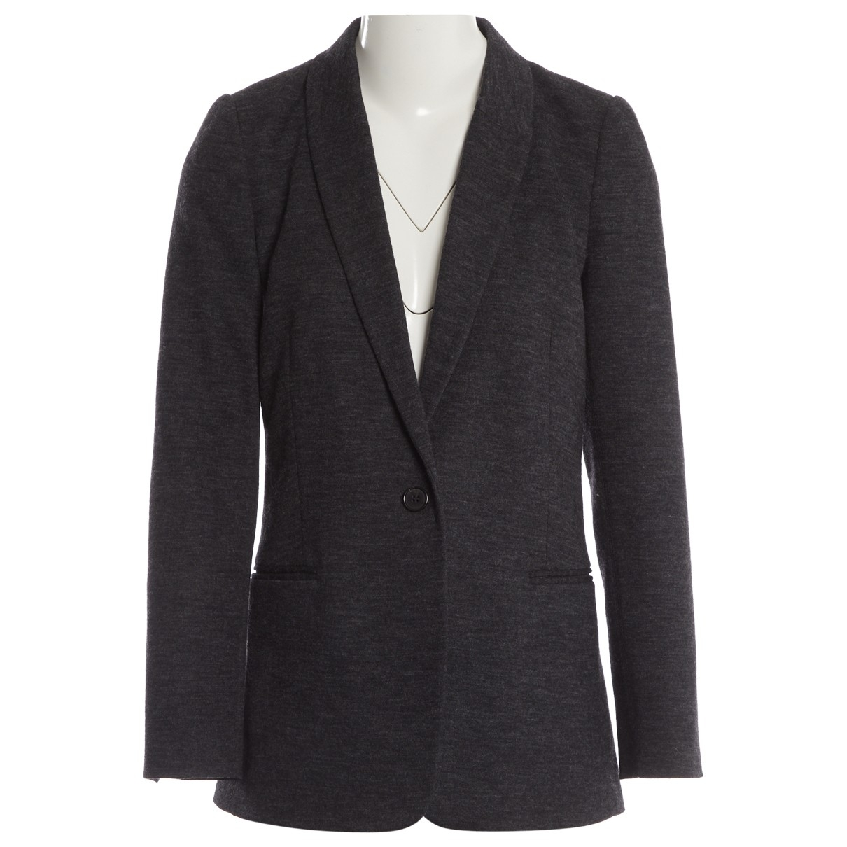 By Malene Birger \N Anthracite Wool jacket for Women 34 EU