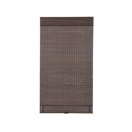 JCPenney Home Bamboo Woven Wood Cordless Room Darkening Roman Shade, One Size , Gray