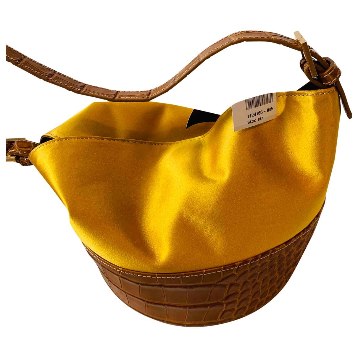 By Far - Sac a main   pour femme en cuir - jaune