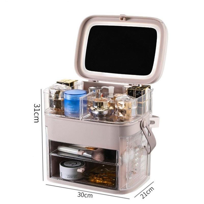 Ericdress Plain Cosmetic Storage Box Simple Storage Boxes