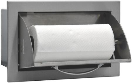 SODXPTH Built In Deluxe Stainless Steel Paper Towel Holder with Raise Reveal Design and Self