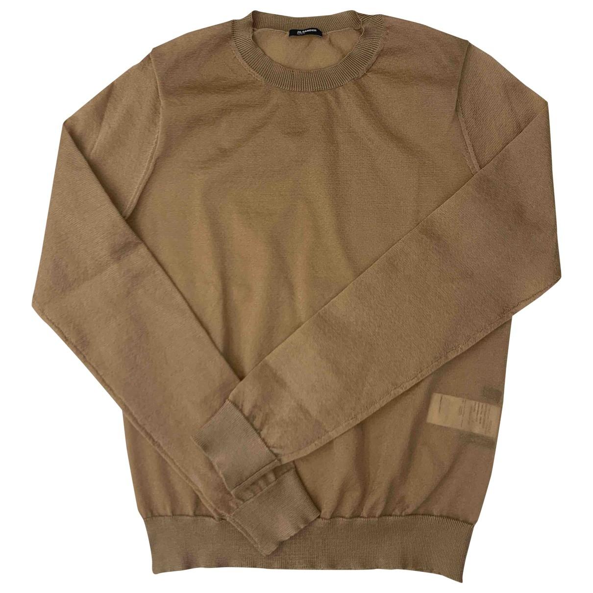 Jil Sander \N Pullover in  Kamel Polyester