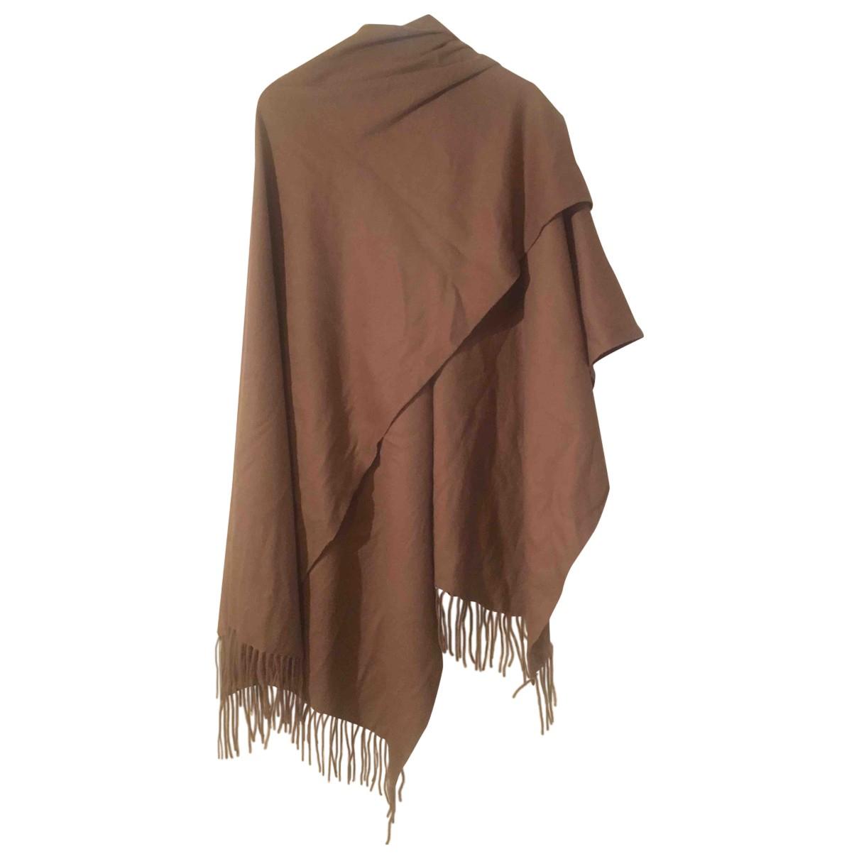 Cos - Foulard   pour femme en laine - beige