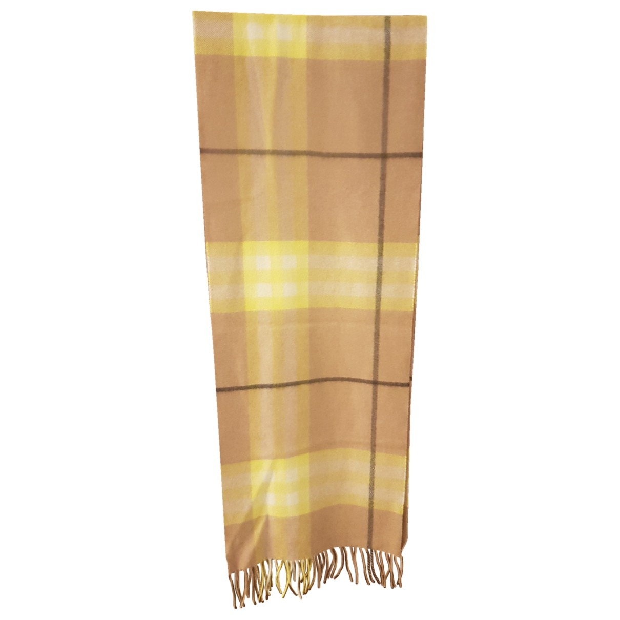 Burberry \N Brown Cashmere scarf for Women \N