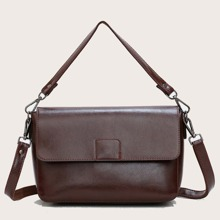 Minimalist Plain Shoulder Bag