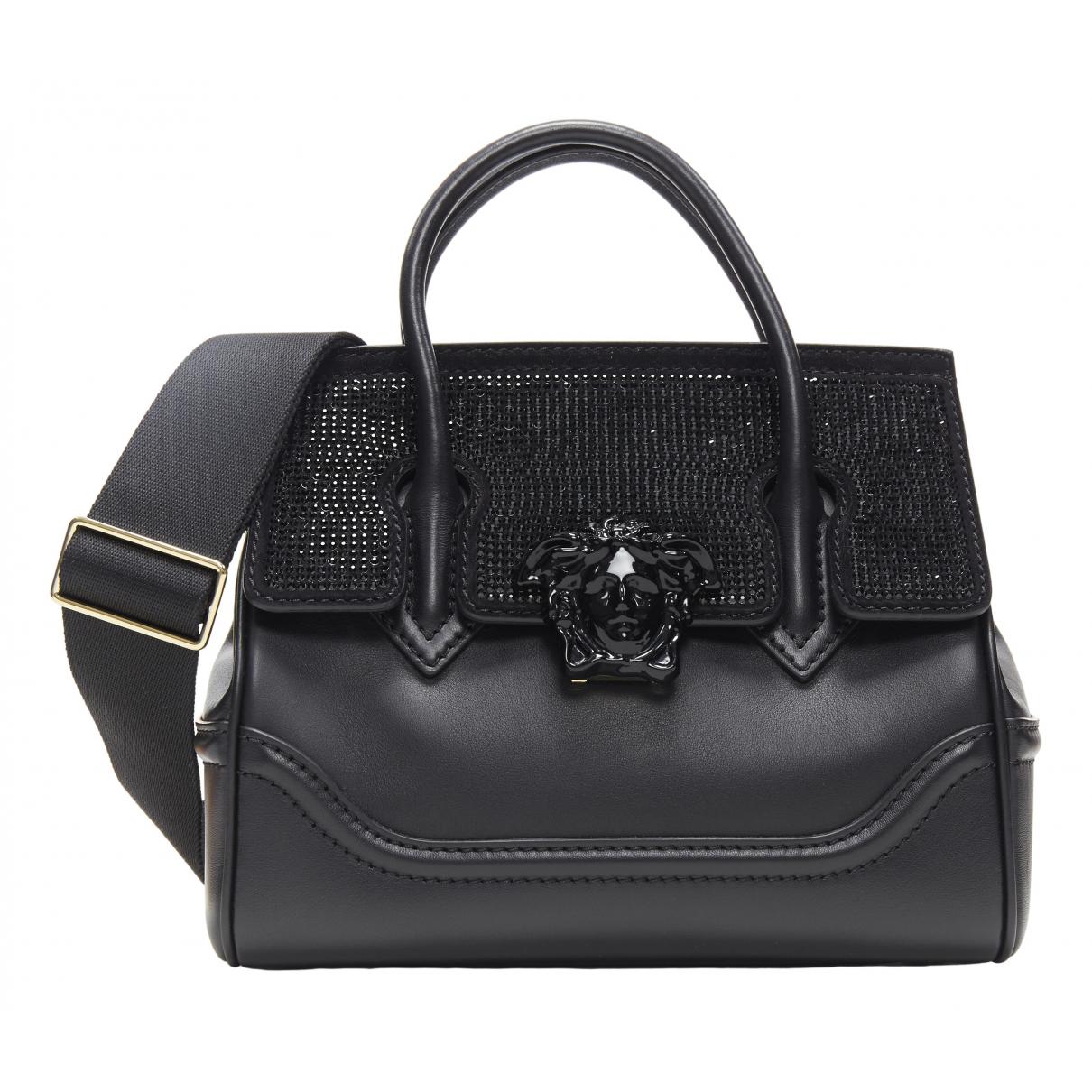 Versace Palazzo Empire Black Leather handbag for Women \N