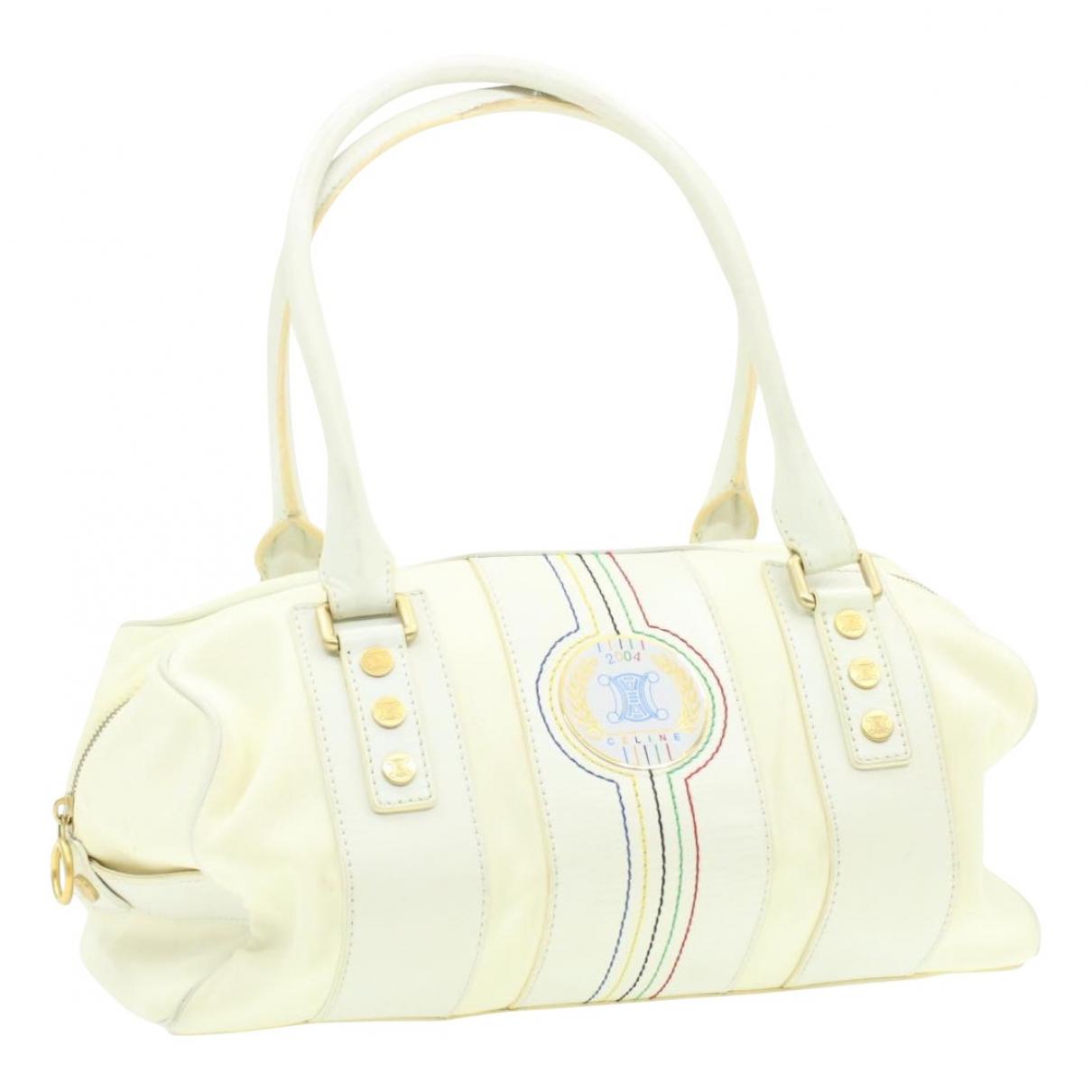 Celine N White Cloth handbag for Women N