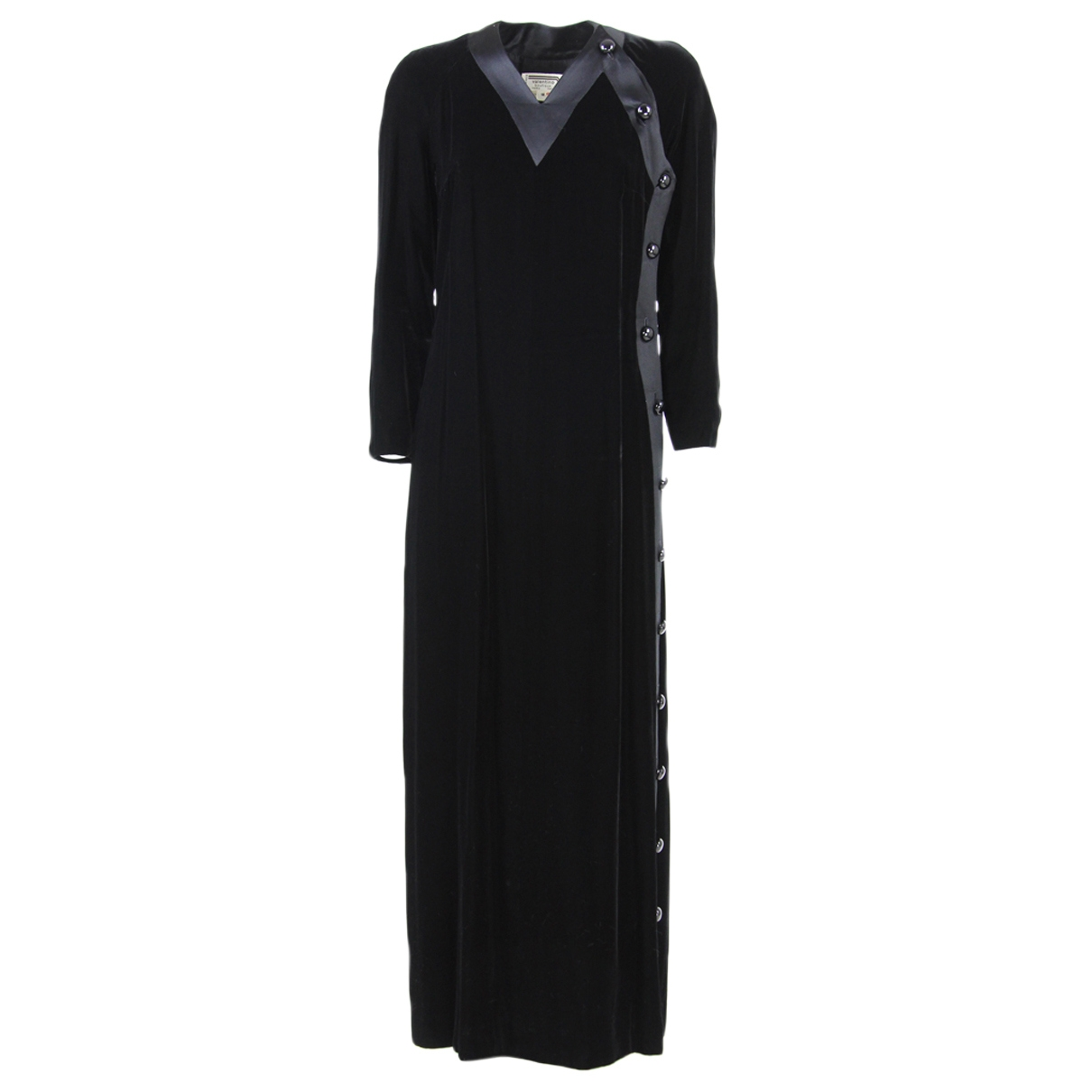 Valentino Garavani \N Black Velvet dress for Women 10 US
