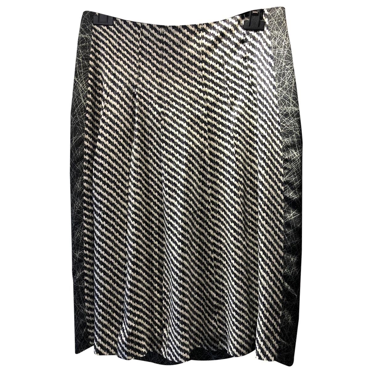 Bottega Veneta \N Multicolour Silk skirt for Women 42 IT