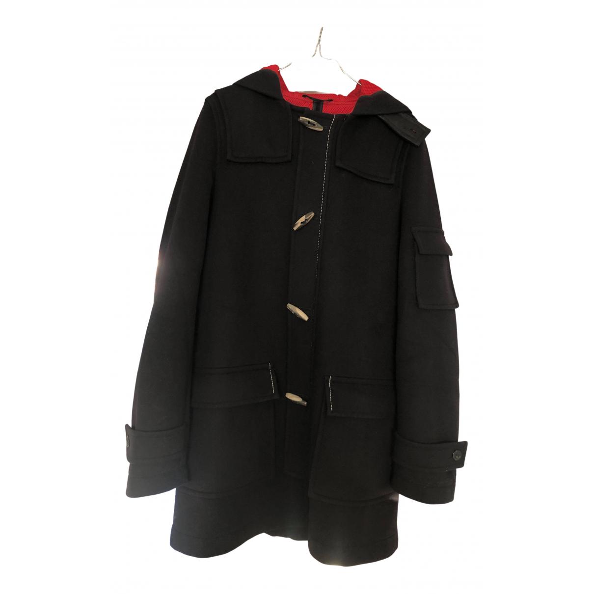 Raf Simons - Manteau   pour homme en coton - marine