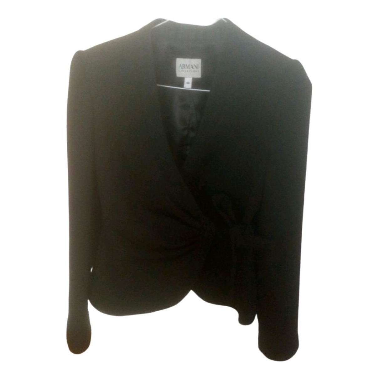 Armani Collezioni \N Black jacket for Women 40 FR