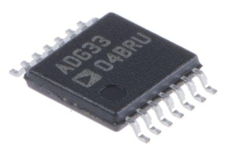 Analog Devices ADG3304BRUZ, Logic Level Translator, Level Translator, 3-State, 14-Pin TSSOP (5)