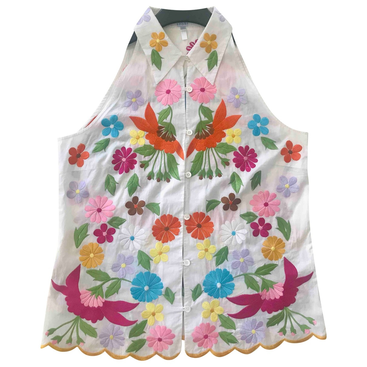 Escada - Top   pour femme en coton - multicolore