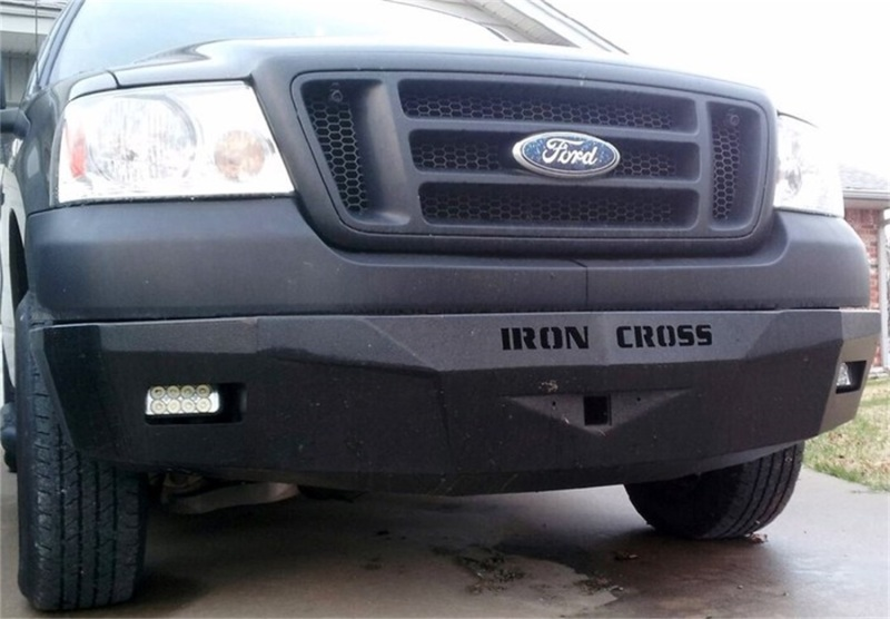 Iron Cross 30-415-09 RS Series Front Bumper - Gloss Black Ford F-150 2009-2014