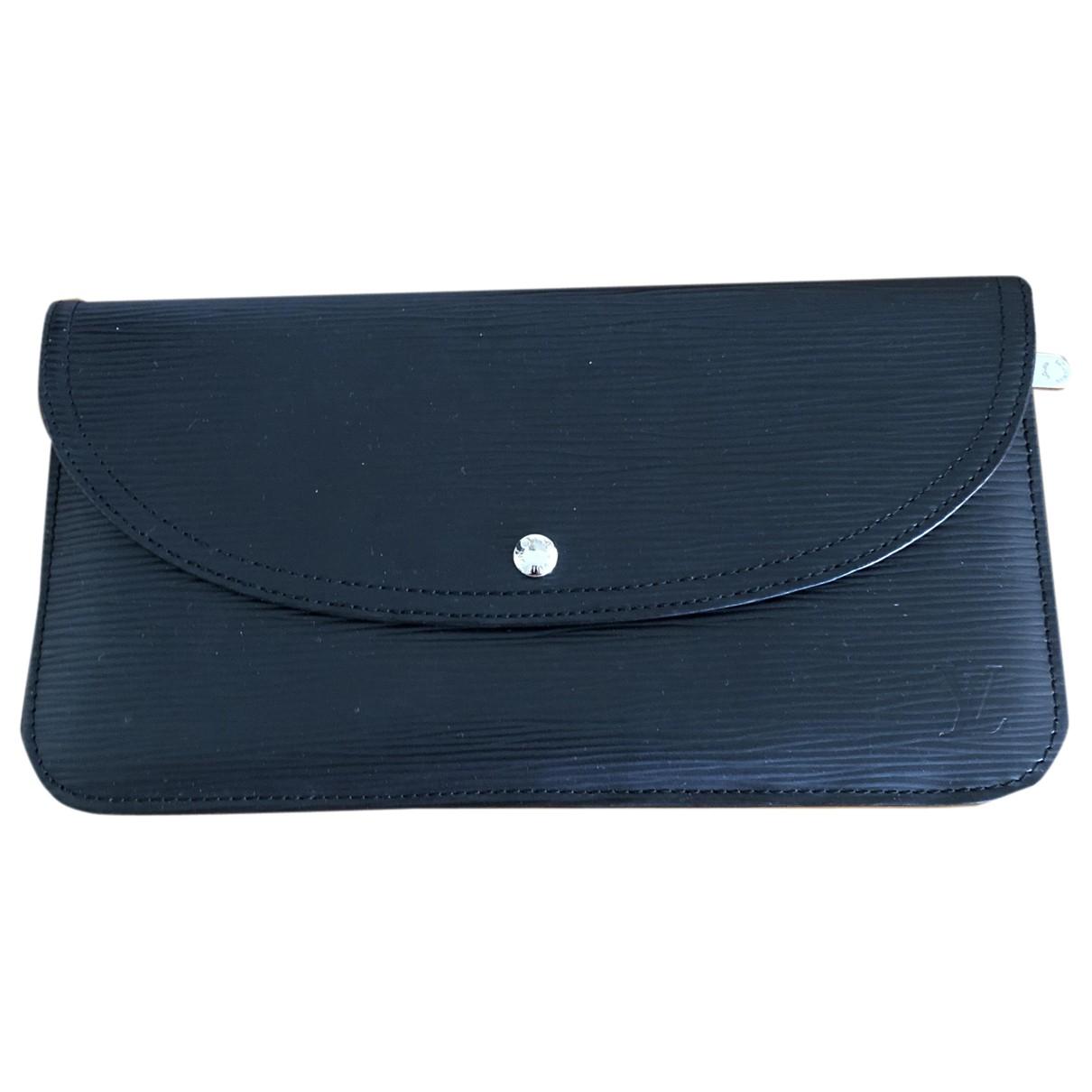 Louis Vuitton \N Black Leather Clutch bag for Women \N