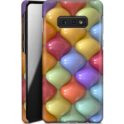 Samsung Galaxy S10e Smartphone Huelle - Oval Pattern von Danny Ivan