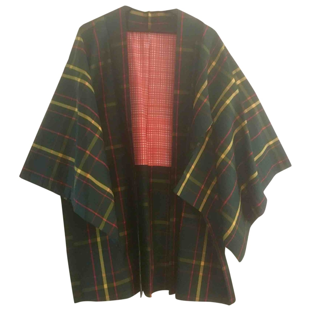 Non Signé / Unsigned \N Green Silk jacket for Women M International