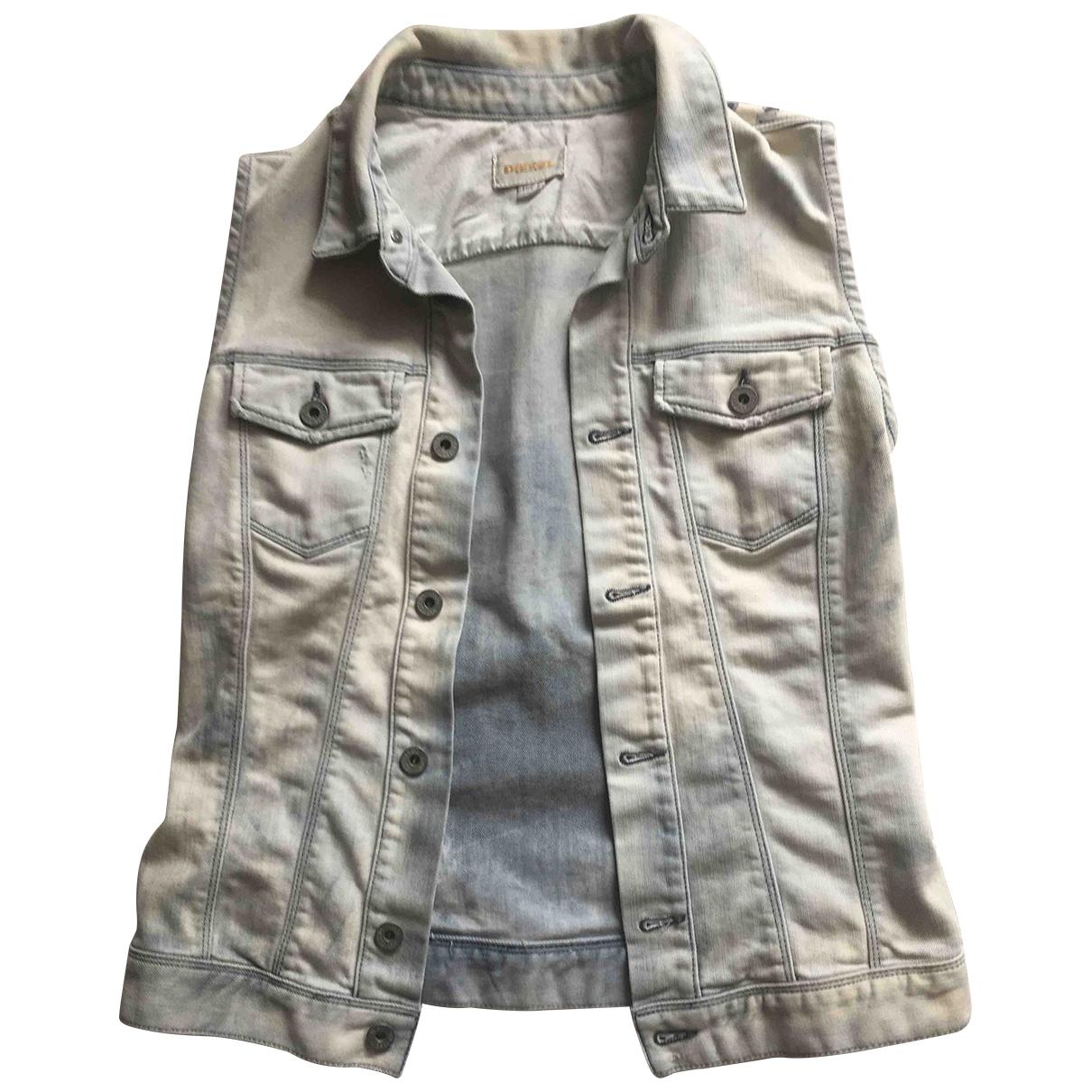 Diesel \N Jacke in Denim - Jeans