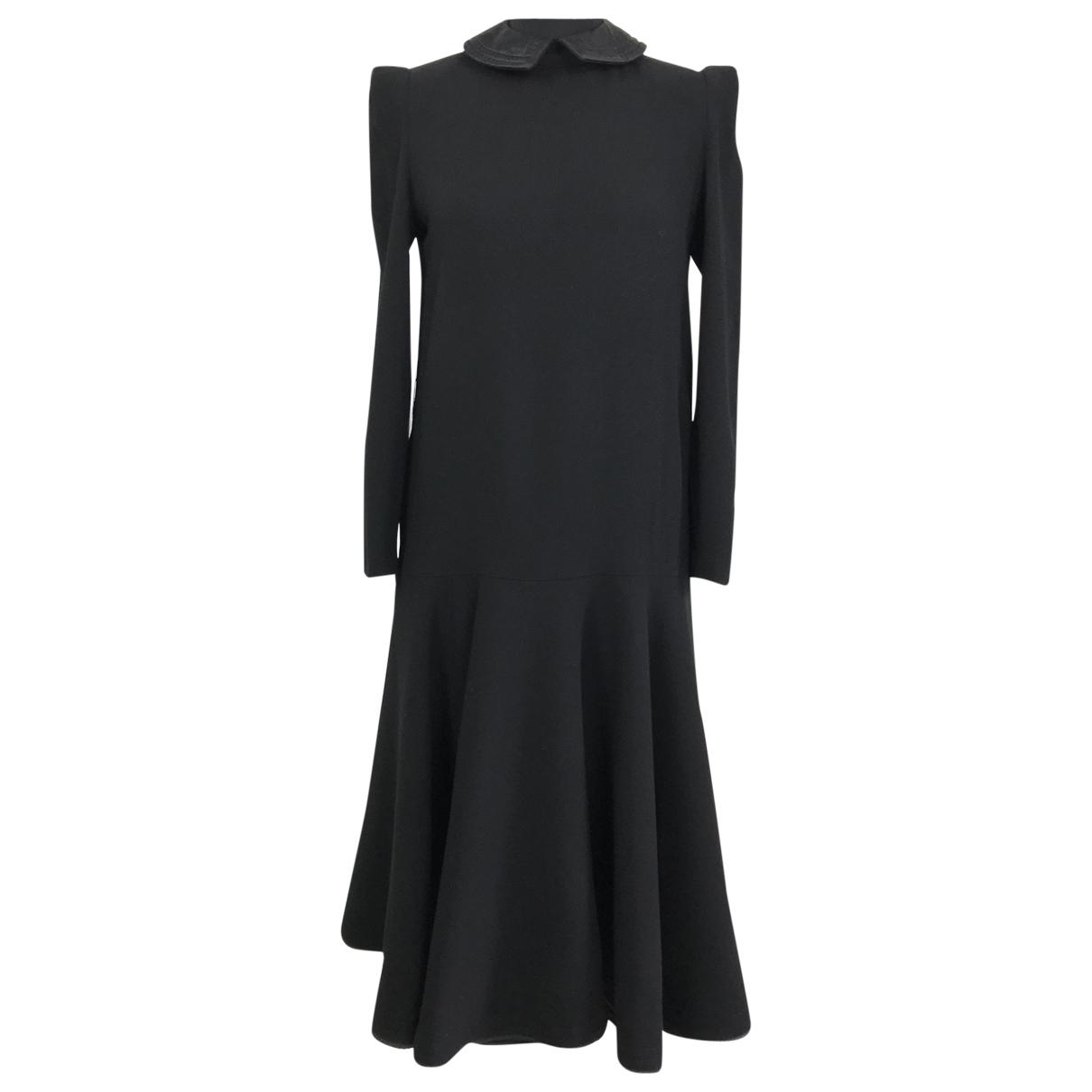 Pierre Cardin - Robe   pour femme en laine - noir