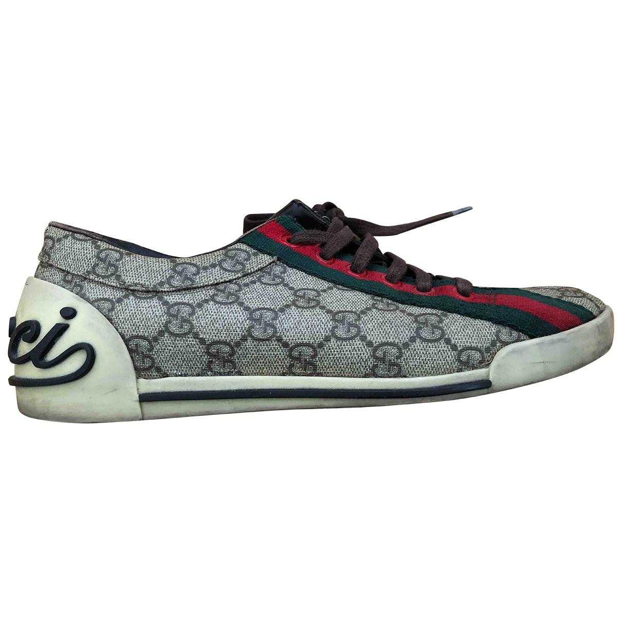 Gucci - Baskets   pour femme en toile