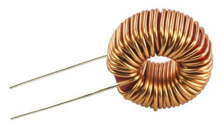 Wurth Elektronik Wurth 100 μH ±20% Ferrite, Iron Powder Leaded Inductor, 2.5A Idc, 80mΩ Rdc, WE-FI (5)