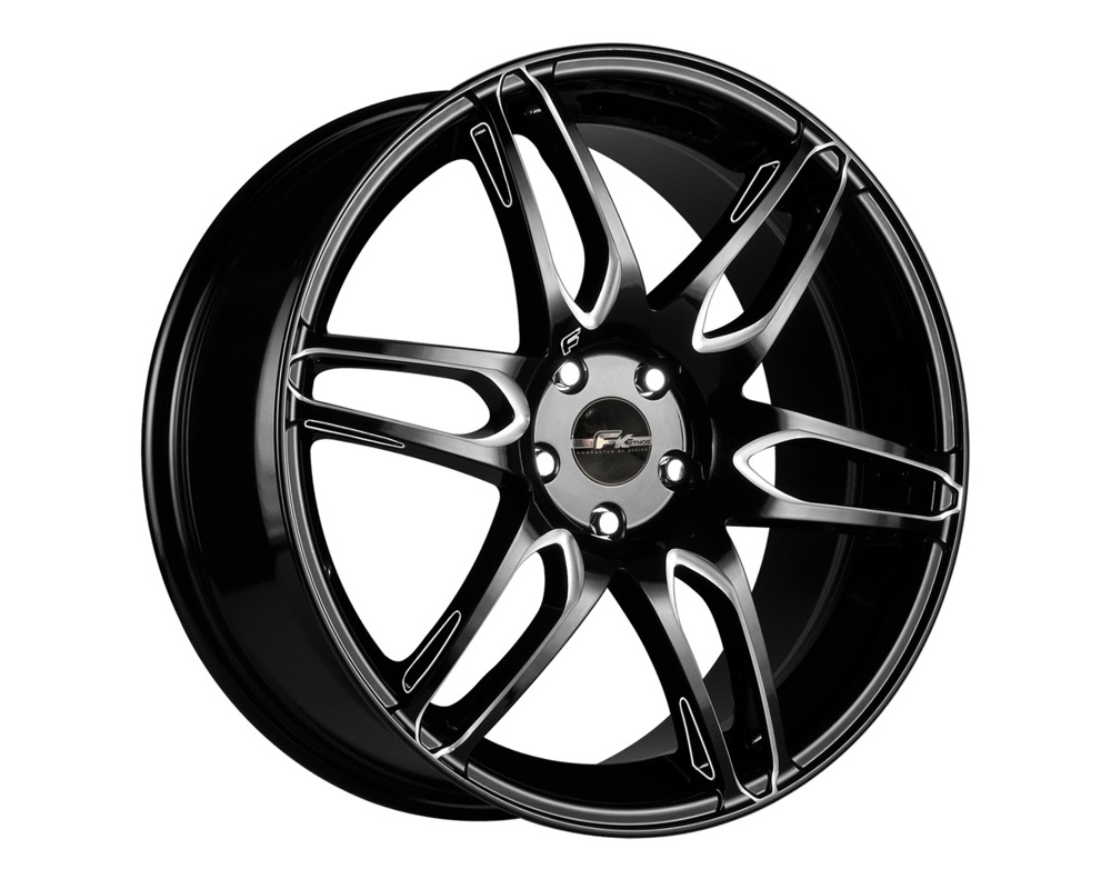 FK Ethos RT62060008 RT-6 Black Ball Cut Machined Wheel 20x8.5 5x114.3/120 35