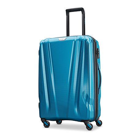Samsonite Swerv Dlx 24 Hardside Spinner Luggage, One Size , Blue