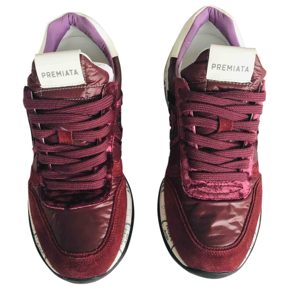 Premiata \N Sneakers in Leder