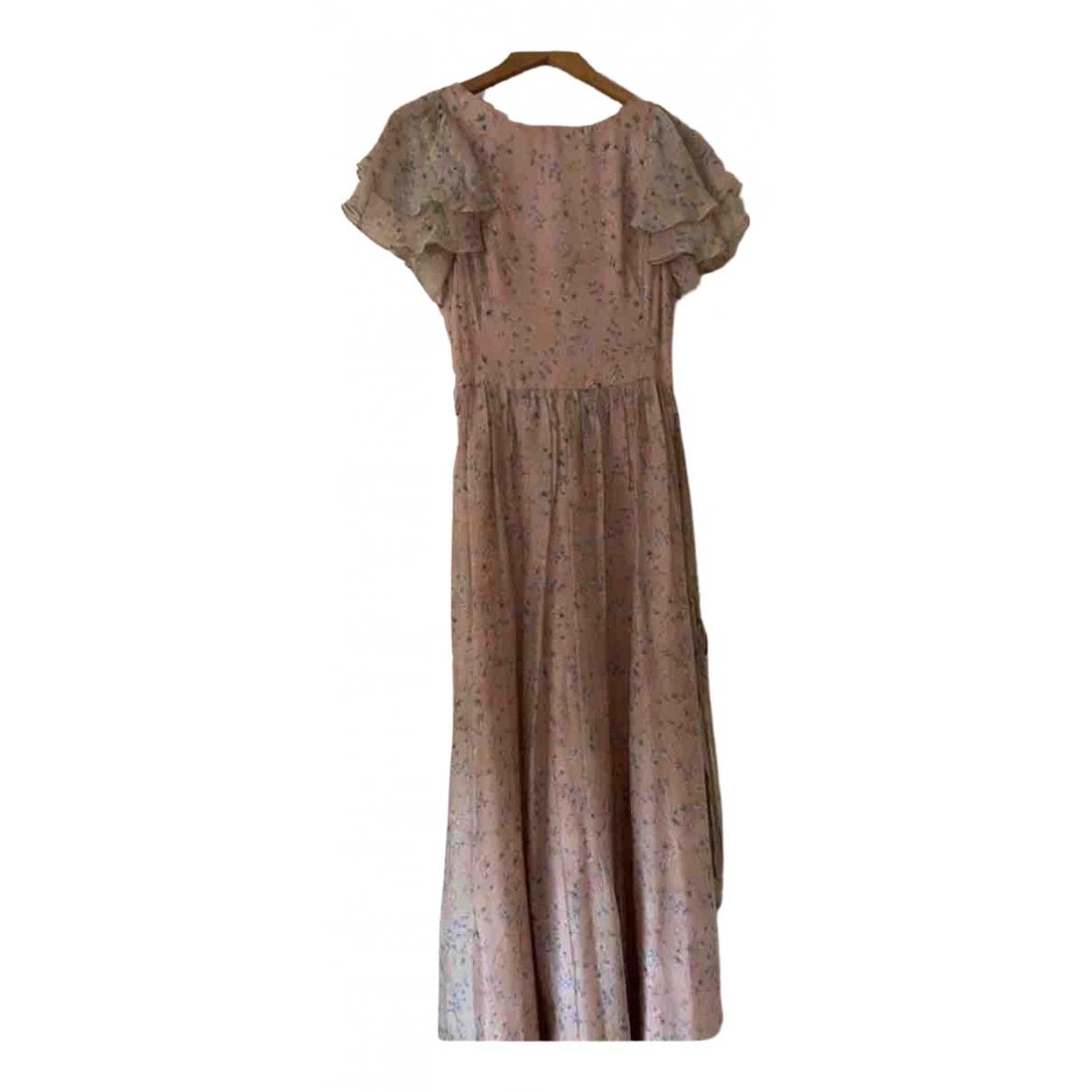 Dolores Promesas - Robe   pour femme en soie - rose