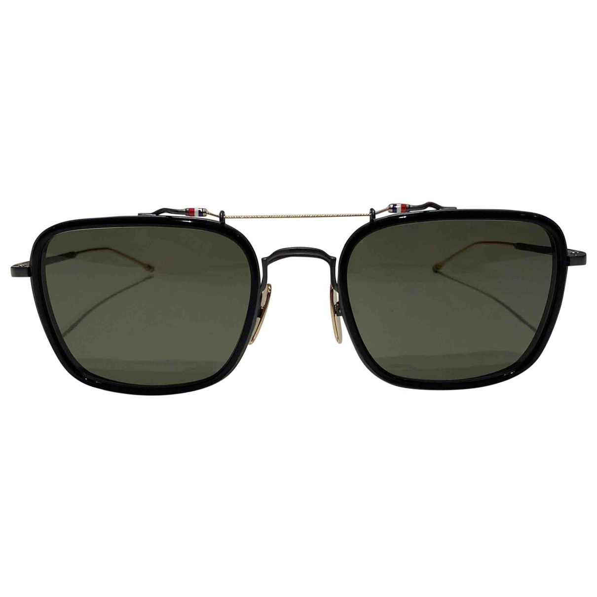 Thom Browne \N Black Metal Sunglasses for Men \N