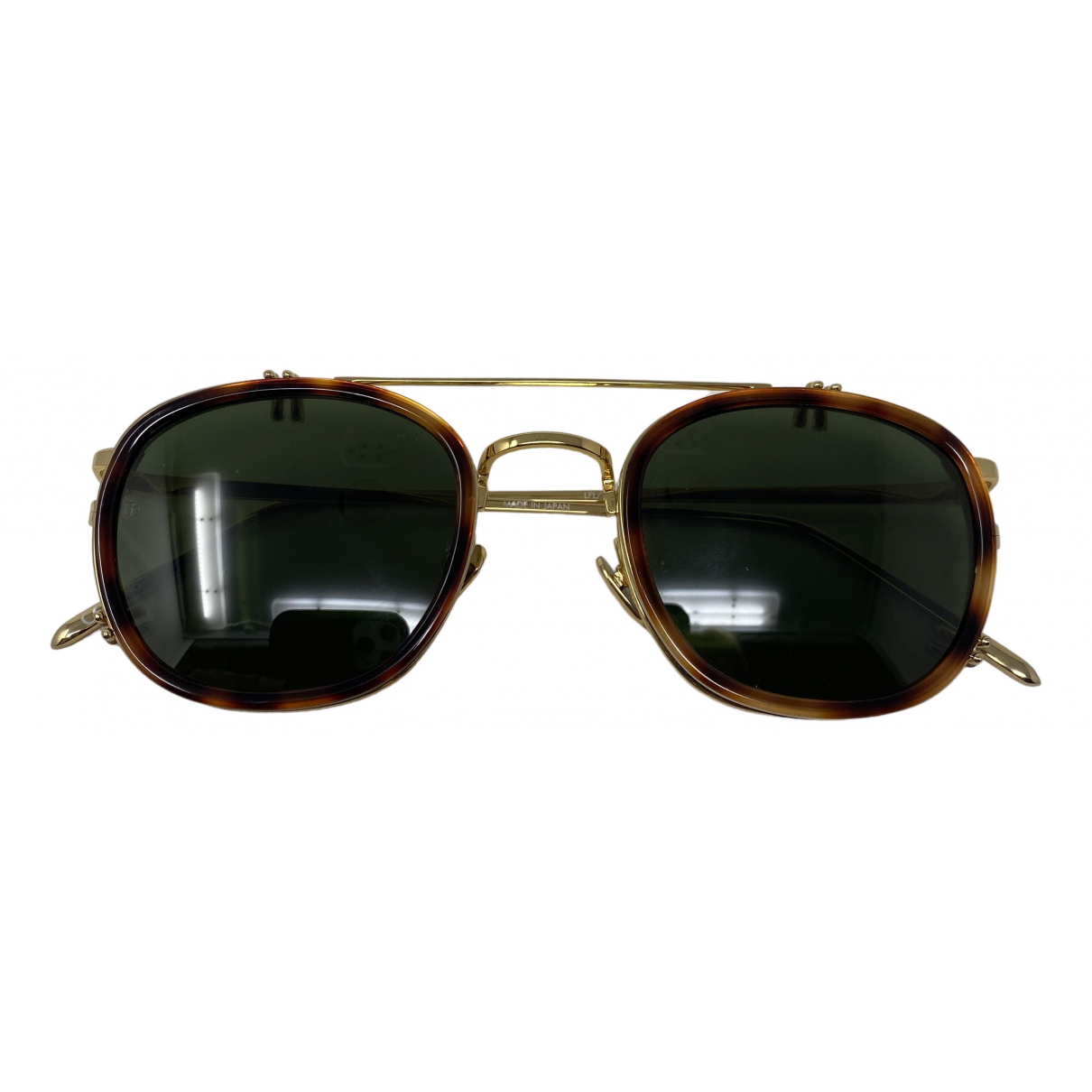 Linda Farrow \N Gold Sunglasses for Women \N