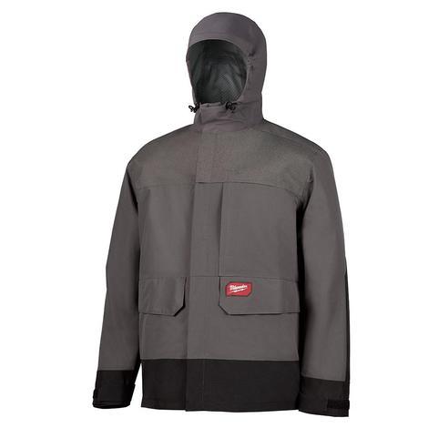 Milwaukee Hydrobreak™ Rainshell Jacket Only L (Gray)