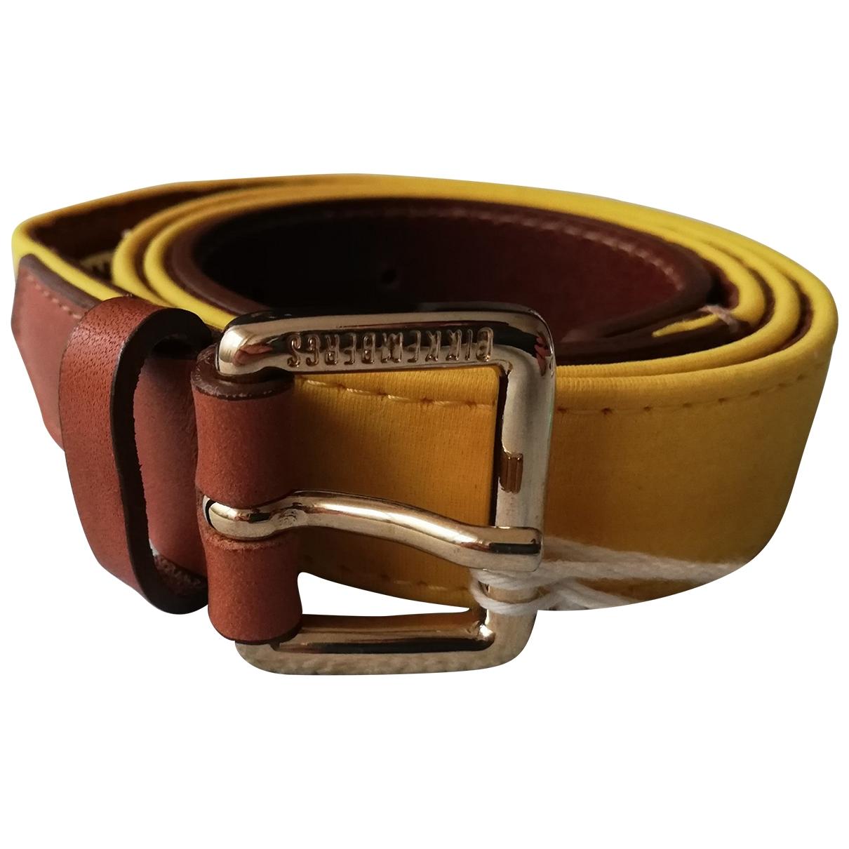Cinturon de Cuero Dirk Bikkembergs
