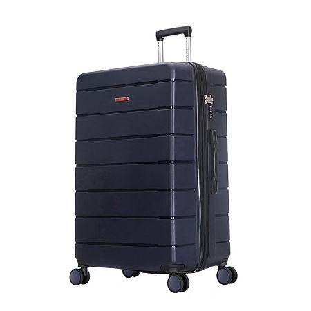 DUKAP Definity Hardside 28 Inch Lugage, One Size , Blue