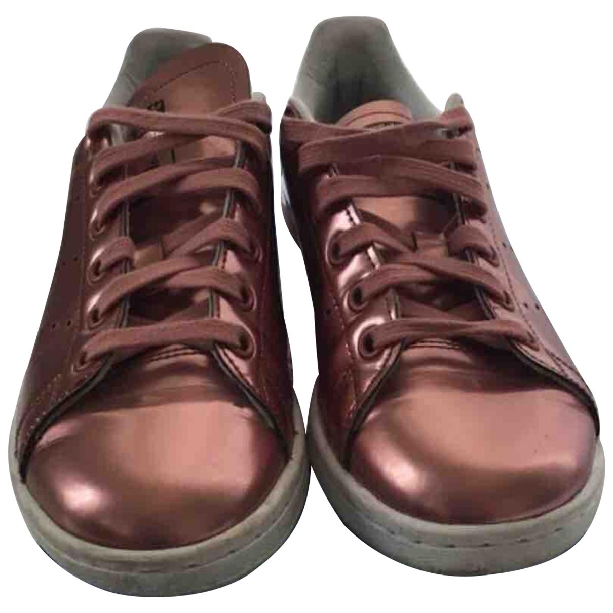 Adidas - Baskets Stan Smith pour femme en cuir - rose