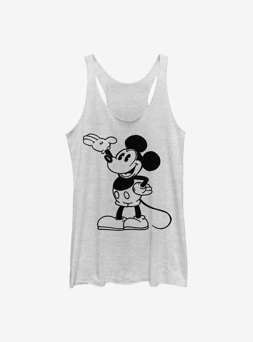 Disney Mickey Mouse Pose Womens Tank Top