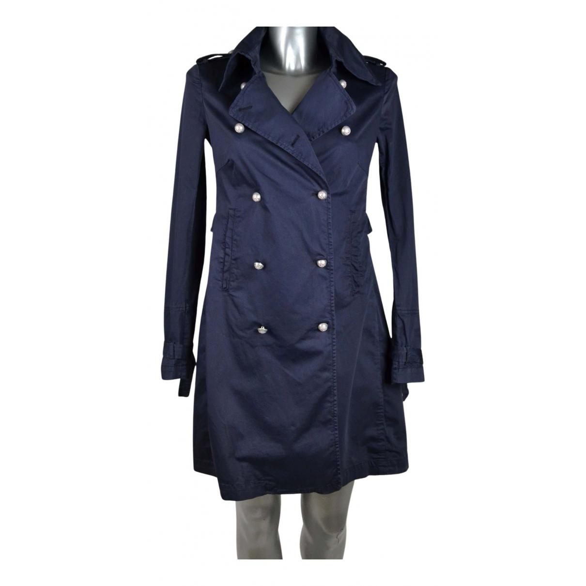 Dondup N Blue Cotton jacket for Women 42 IT