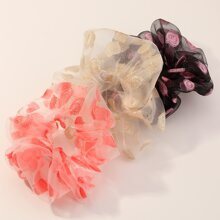 3 Stuecke Haarband mit Blatt Muster