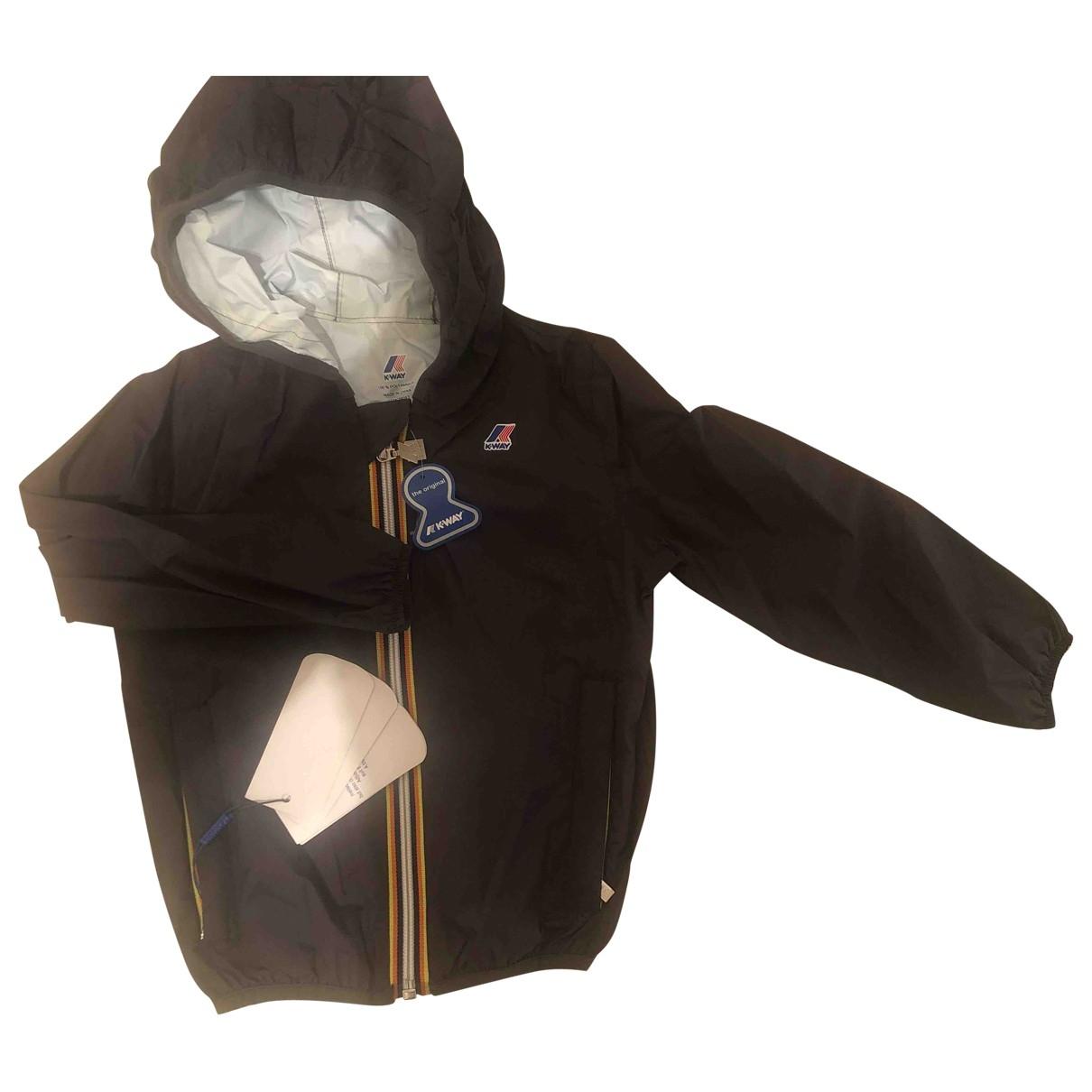 K-way - Blousons.Manteaux   pour enfant - noir