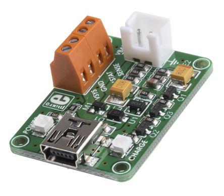 MikroElektronika MIKROE-1198 VOLT USB Power Management for MCP73832