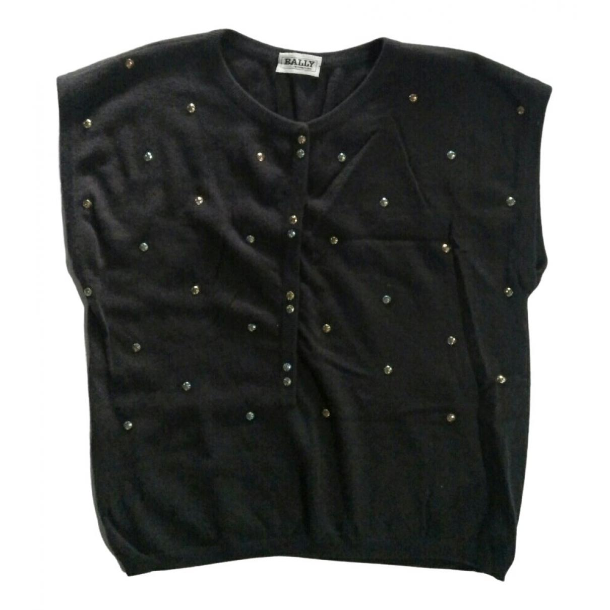 Bally - Pull   pour femme en laine - noir