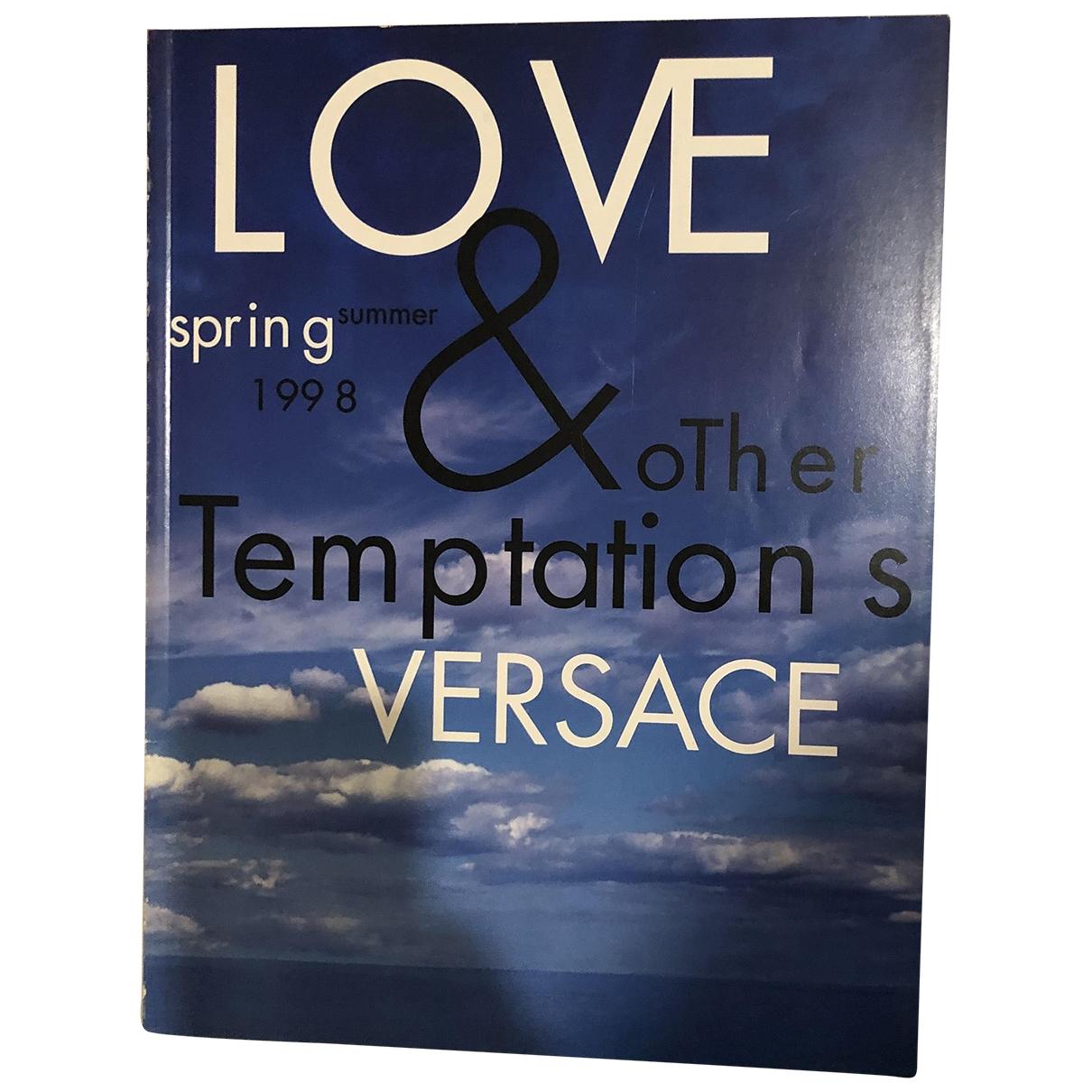 Versace - Mode   pour lifestyle en coton - bleu