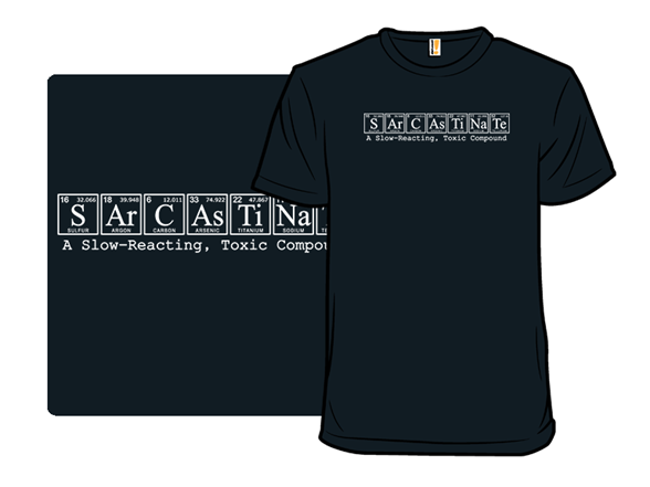 Sarcastinate T Shirt