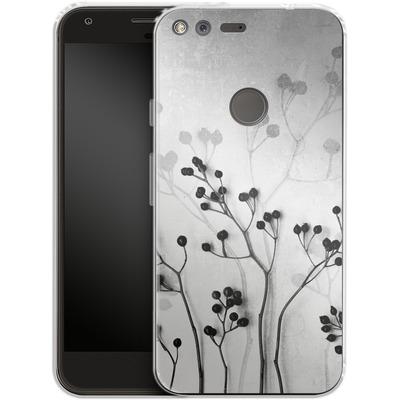 Google Pixel Silikon Handyhuelle - Abstract Flowers 5 von Mareike Bohmer
